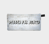 Diggin for Beats Ghetto Hip Hop Cosmetic & Pencil Zip Clutch - Printed Makeup Bag - Urban Street Zipper Case