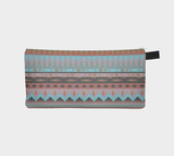 Dream Southwest Dream Pendleton Pattern Cosmetic & Pencil Case Boho Makeup Bag