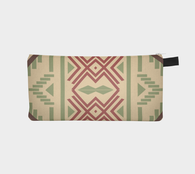 SouthWest Pattern 1 - Boho Chic Makeup Printed Zip Clutch