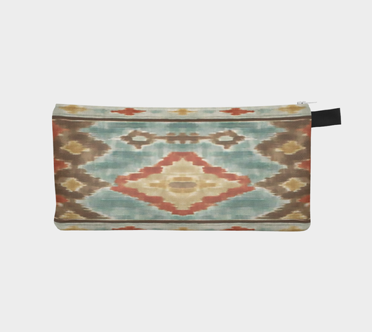 SouthWest Ikat Boho Hippie Clutch