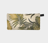 Beach Fauna Hollywood Botanical Printed Zip Clutch