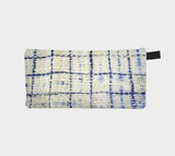 Sashiko 10 Japanese Stitched Cosmetic Makeup Travel Bag Pencil Case