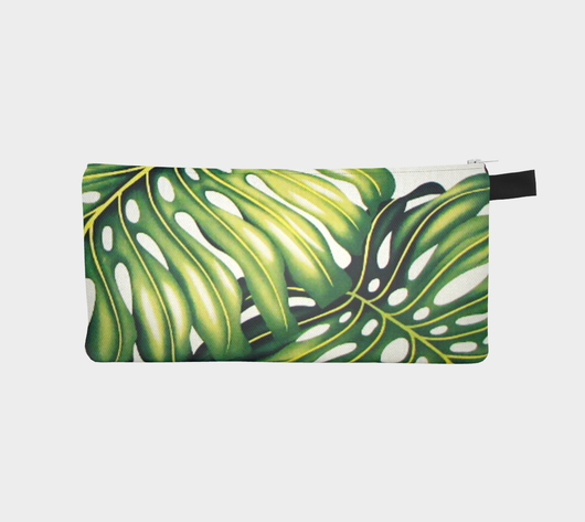 Tropical 1 Jungle Botanical Beach Chic Cosmetic Travel Bag
