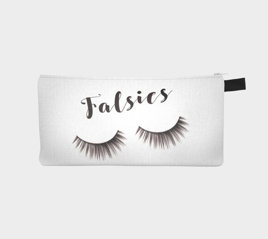 Falsies Eyelash Makeup Cosmetic Bag
