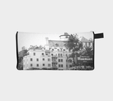 Chateau Marmont Old Decayed Hollywood Glamour Printed Cosmetic Makeup Bag