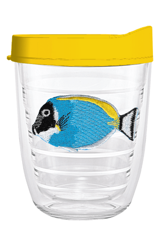 Aquarium Fish Blue 12oz Tumbler, Tumbler - Smile Drinkware USA