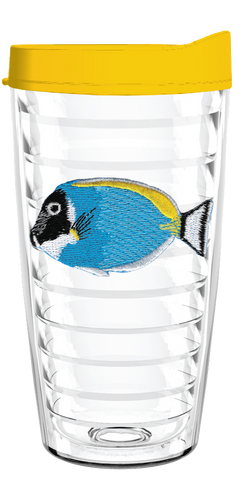 Aquarium Fish Blue 16oz Tumbler