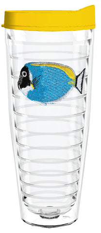 Aquarium Fish Blue 26oz Tumbler, Tumbler - Smile Drinkware USA