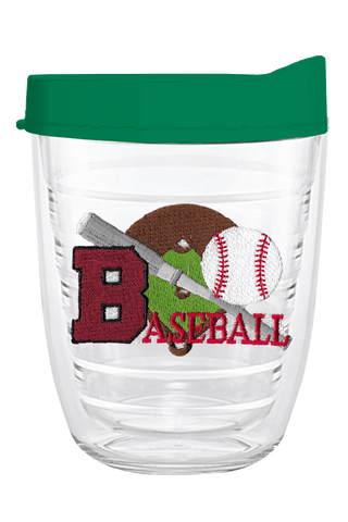 Baseball 12oz Tumbler, Tumbler - Smile Drinkware USA