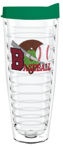 Baseball 26oz Tumbler, Tumbler - Smile Drinkware USA
