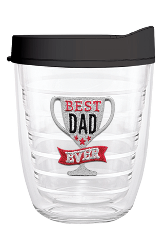 Best Dad Ever 12oz Tumbler, Tumbler - Smile Drinkware USA