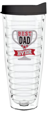 Best Dad Ever 26oz Tumbler, Tumbler - Smile Drinkware USA