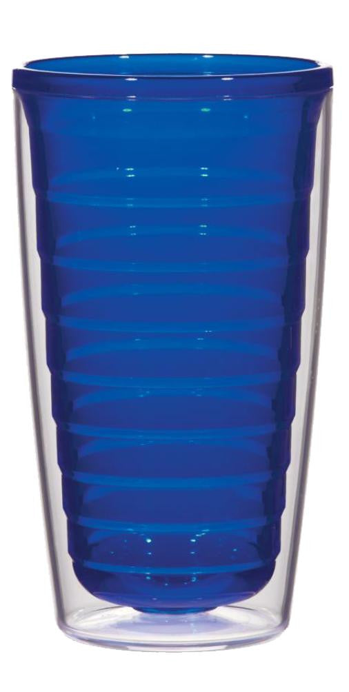 Blue - 16oz Tumbler (No Lid), Tumbler - Smile Drinkware USA
