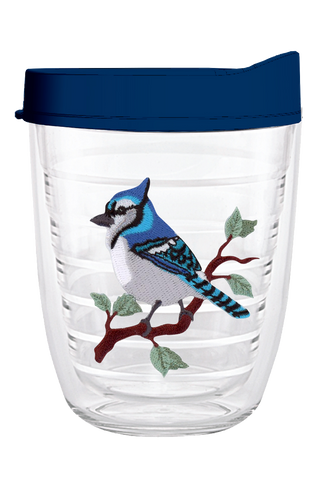 Blue Jay 12oz Tumbler, Tumbler - Smile Drinkware USA