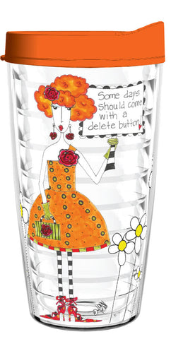 Dolly Mamas Delete Button 16oz Tumbler