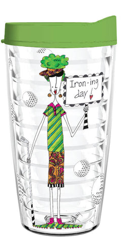 Iron-ing Day 16oz Tumbler - Smile Drinkware USA
