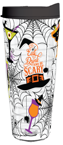 Eat Drink and Be Scary - 26oz Tumbler, Tumbler - Smile Drinkware USA