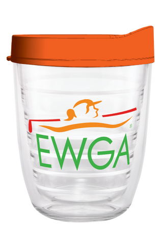 EWGA Clear Wrap 12oz Tumbler, Tumbler - Smile Drinkware USA