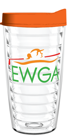 EWGA Clear Wrap 16oz Tumbler, Tumbler - Smile Drinkware USA
