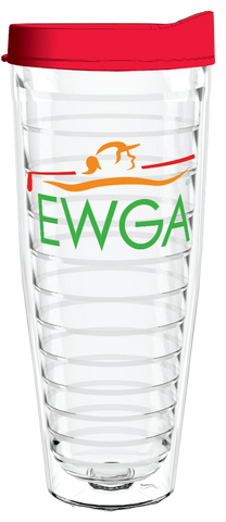 EWGA Clear Wrap 26oz Tumbler, Tumbler - Smile Drinkware USA