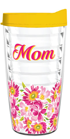 Mom-Gerbera-16oz Tumbler