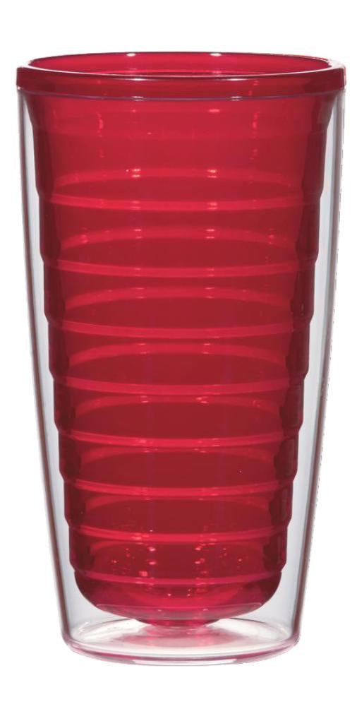 Red 16oz Tumbler (No Lid)