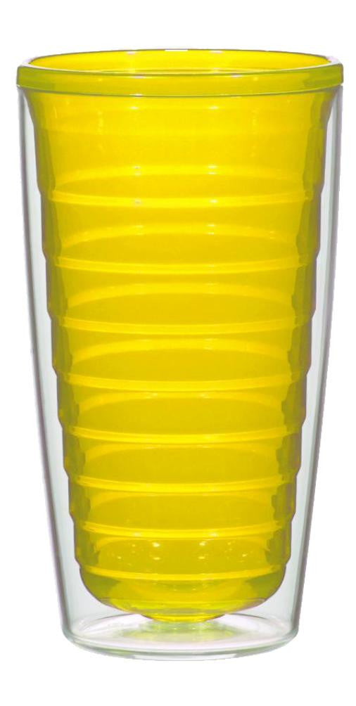 Yellow - 16oz Tumbler (No Lid)