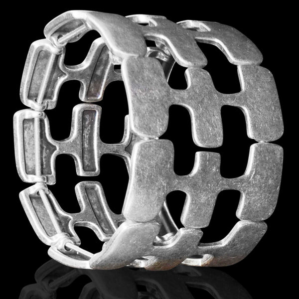 Silver Stories Cuff - Naadz Jewelers