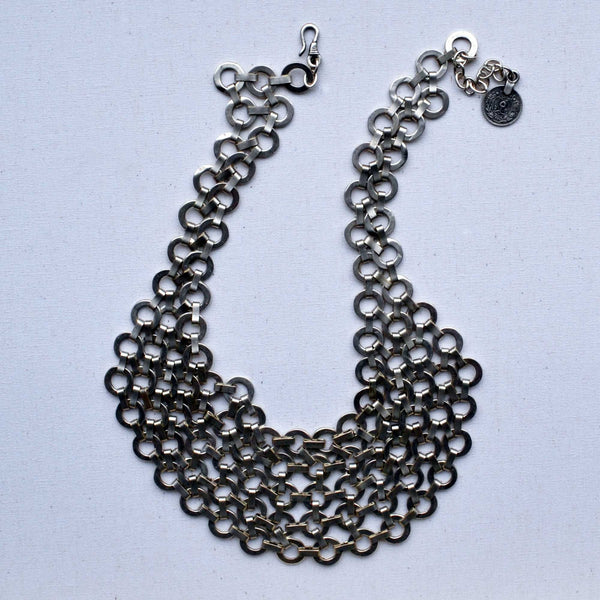 Chic Silver Necklace