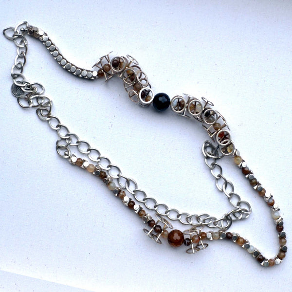Silver Soiree Necklace