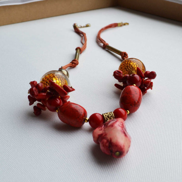 Fusion Coral Necklace