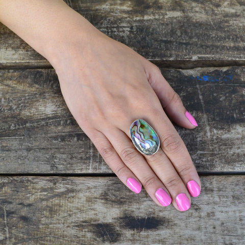 Metallic Dreams Ring - Adjustable Size