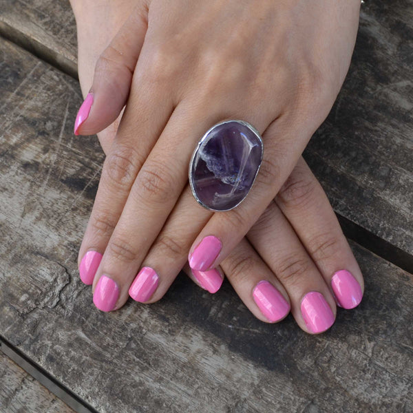 Amethyst Turkish Ring