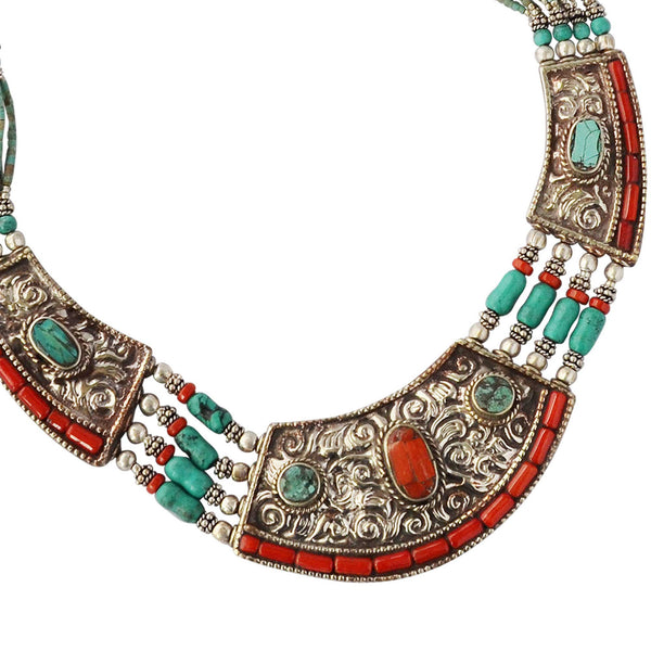 Bohemian Vintage Necklace - Naadz Jewelers