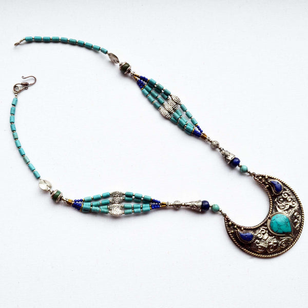 Royal Tibetan Necklace - Naadz Jewelers