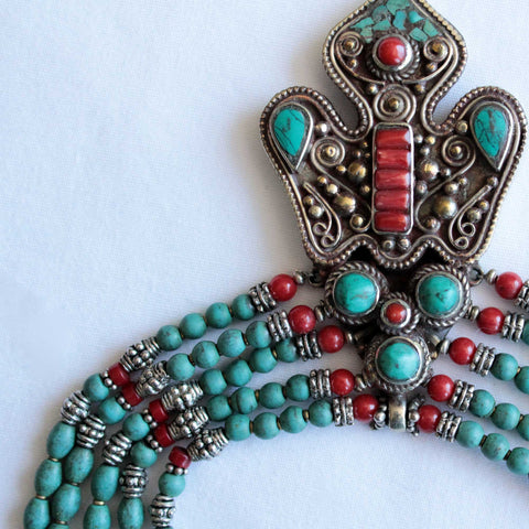 Tibetan Vintage Necklace - Naadz Jewelers