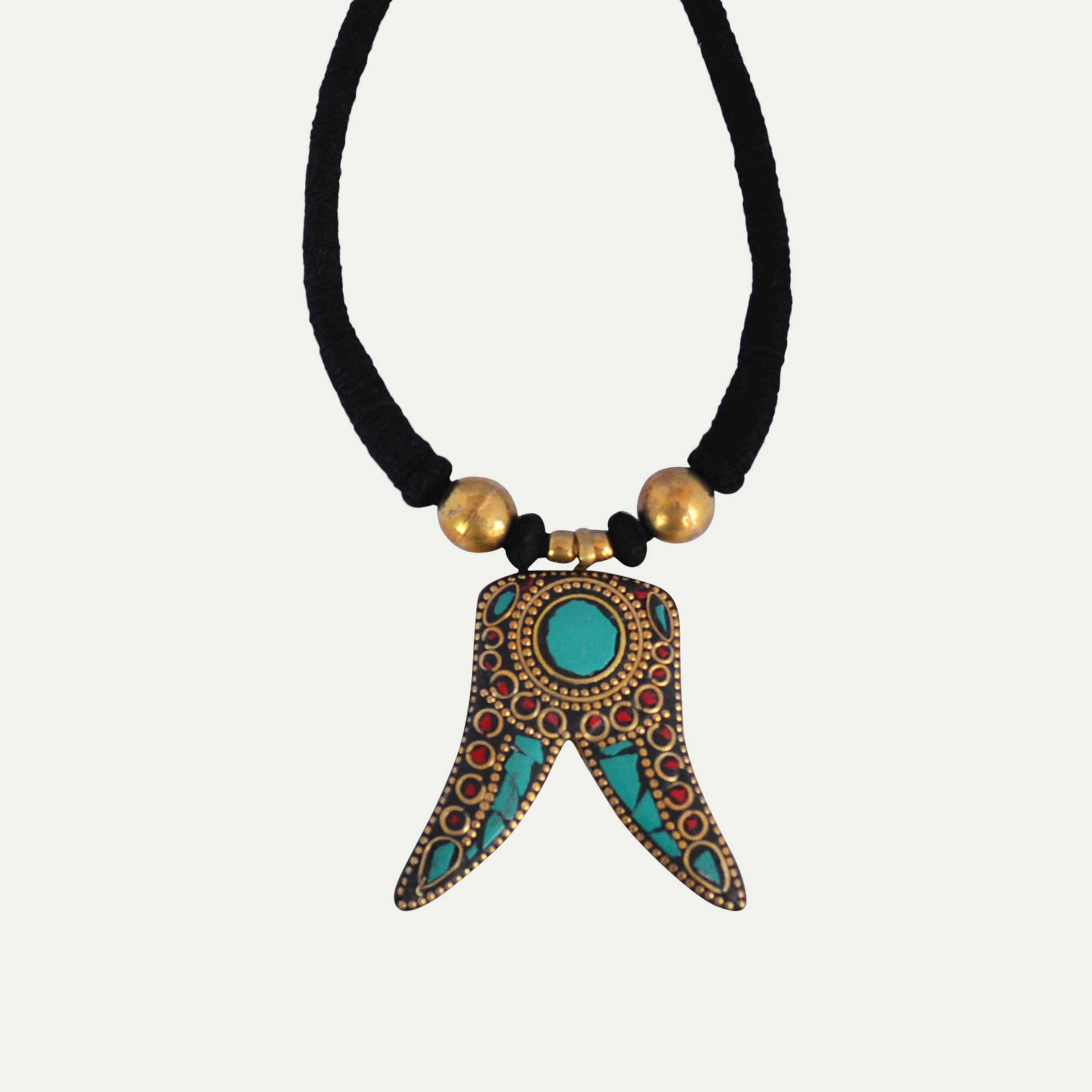 Tribal Threaded Pendant - Naadz Jewelers