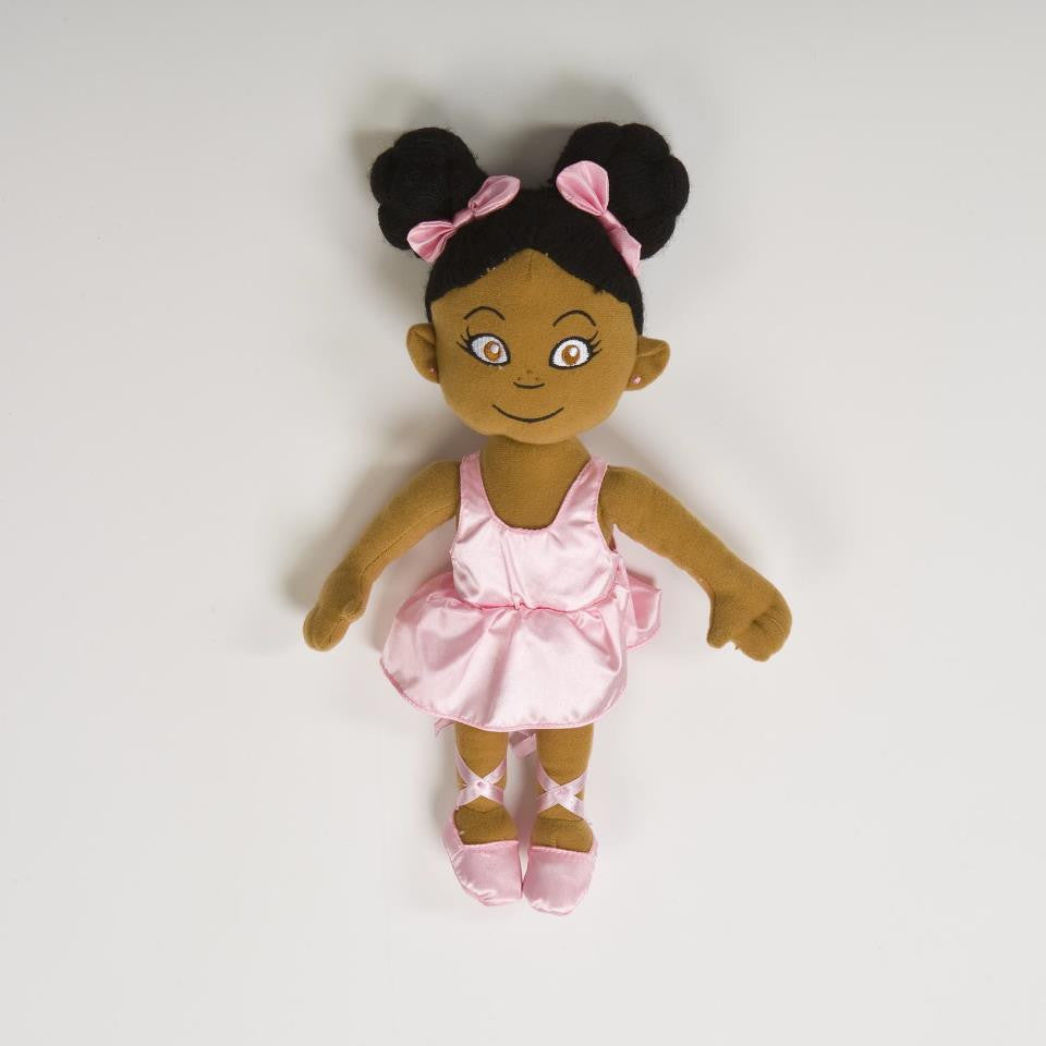 African American Ballerina  Pepper Doll Pepper-1ct