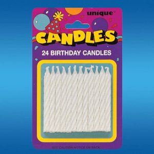 Candles - 24ct. (White)