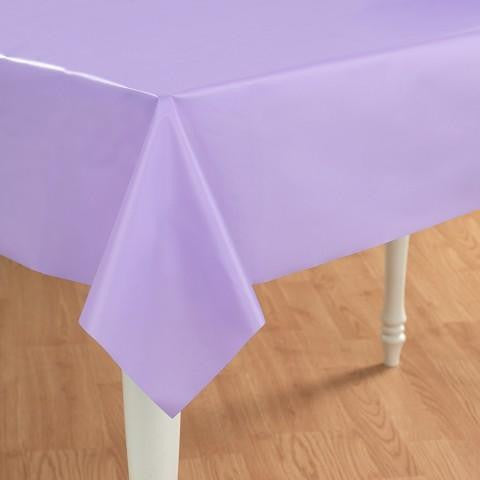 Tablecover Lavender Plastic-1ct