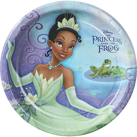 1st Edition - Princess and a Frog Plates Dinner