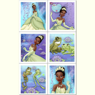 1st Edition - Princess and a Frog Stickers 4 Pack
