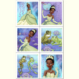 Princess and the Frog Stickers 4pk