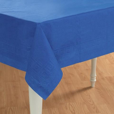 Tablecover Royal Blue Plastic-1ct