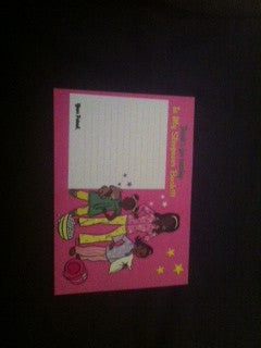 "Slumber Party ""Blank"" Thank You Note Cards (1ea)"