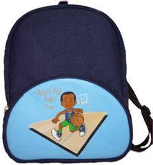 African American The Basketball Player Backpack-1ct