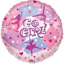 Balloon Mylar Go Go-1ct
