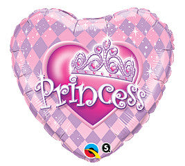 Balloon Mylar Birthday Princess-1ct