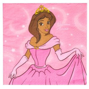 Amira Princess Napkins-16ct