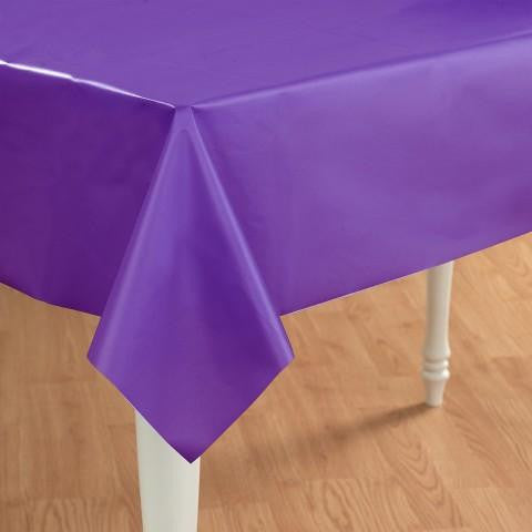 Tablecover Purpler Plastic-1ct
